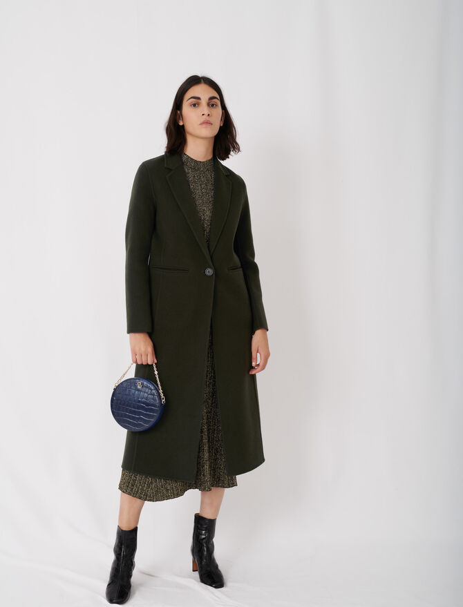 Long double face coat -  - MAJE