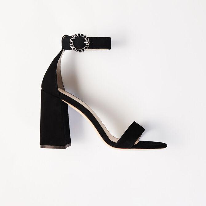 Heeled strappy sandals -  - MAJE