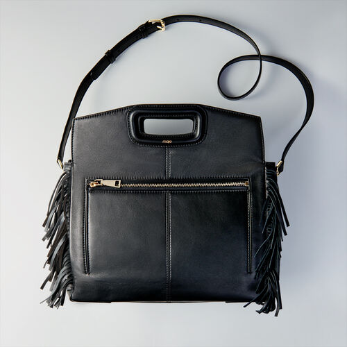 Leather M Walk bag : Totes & M Walk color Black