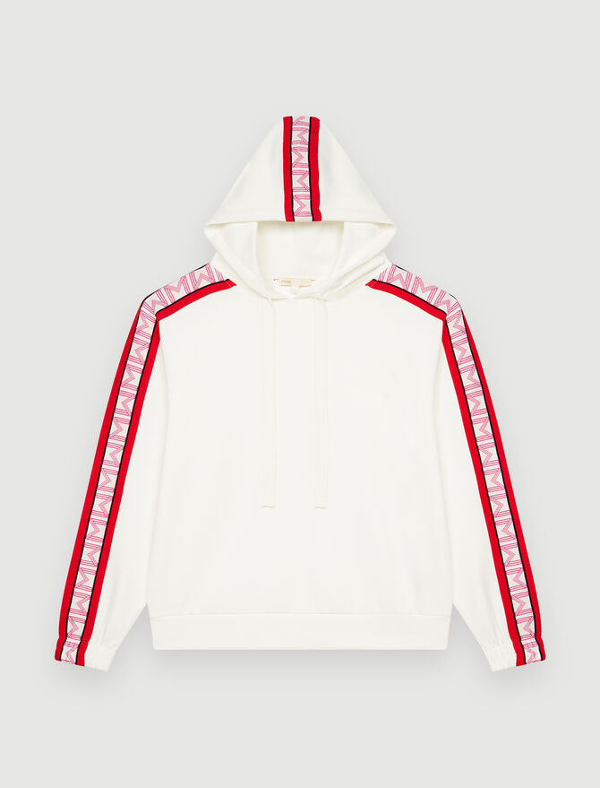 Hooded sweatshirt -  - MAJE