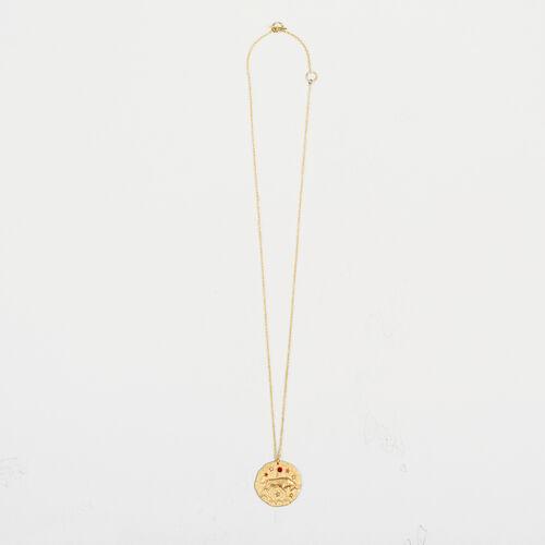 Taurus zodiac sign necklace : Collection color GOLD