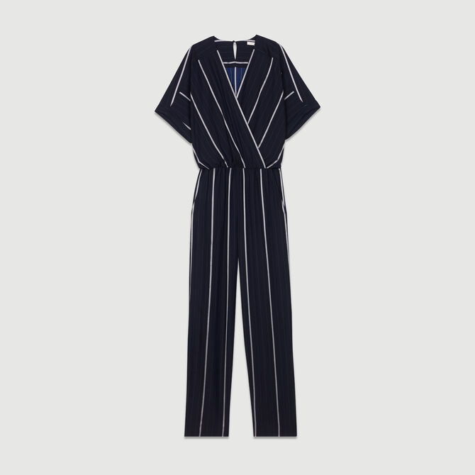 Striped Jumpsuit - Trousers & Jeans - MAJE
