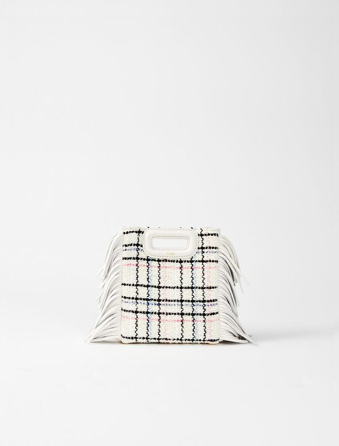 Tweed mini M bag - M bags - MAJE