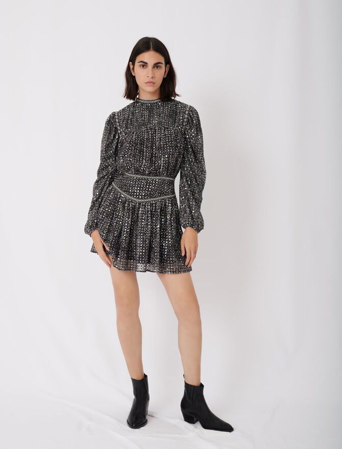Short sequin dress - See all - MAJE