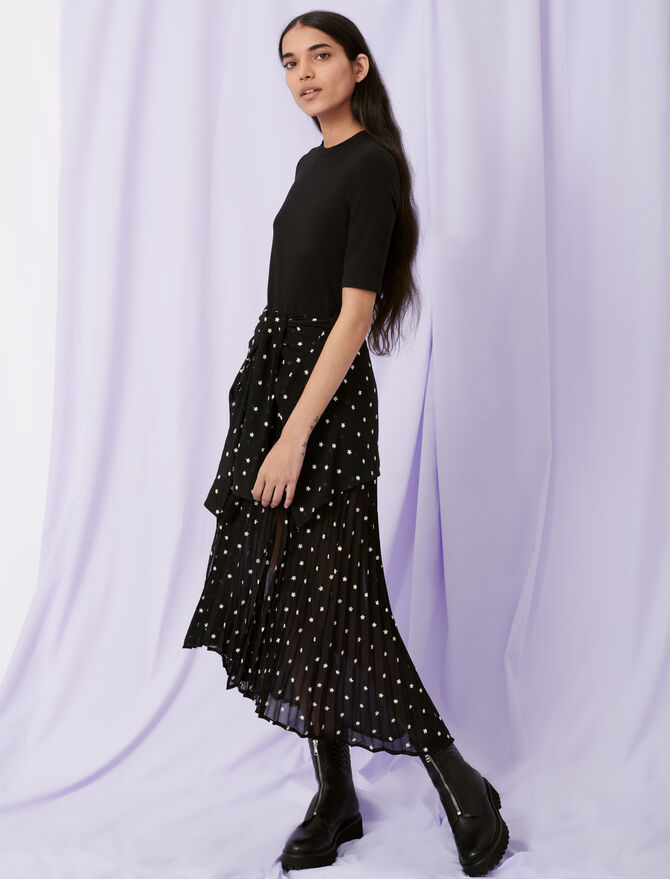 Trompe-l'œil shirt dress - Dresses - MAJE
