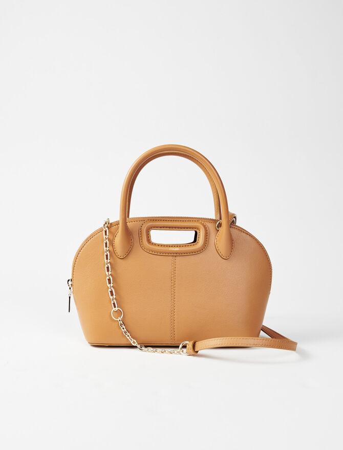 Smooth leather handbag - All the collection - MAJE