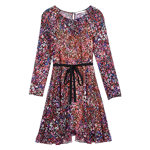 Belted floral dress - Dresses - MAJE